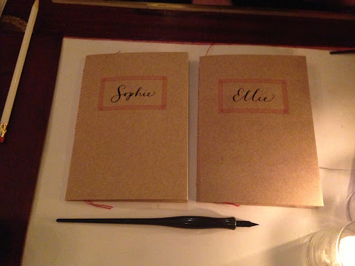 Personalized journals - another great Valentine/gift idea