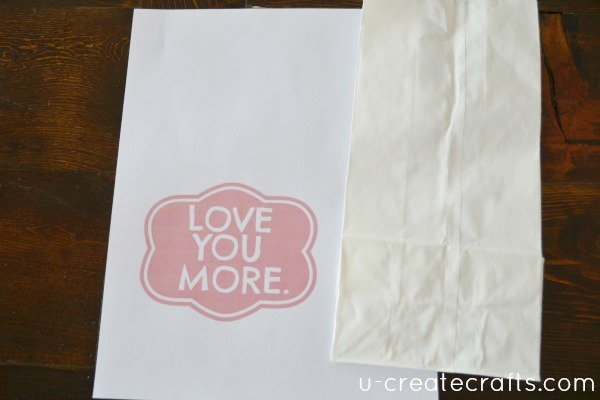 Love you more Valentine Bag Tutorial 9