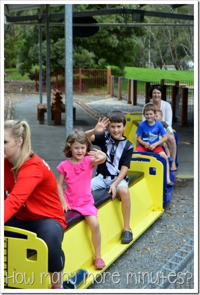 Kidstown Playground in Shepparton ~ How Many More Minutes?