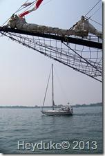 Ships in Toronto Harbor
