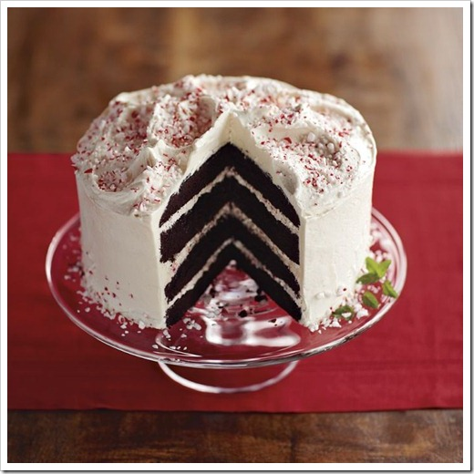williams and sonoma peppermint crunch cake