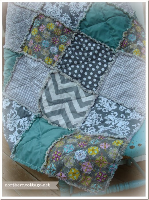 {Northern Cottage} soft modern quilt