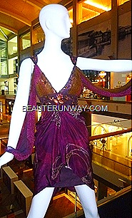 Alleira batik dress cocktail Marina Bay Sands Singapore