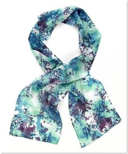 budget silk scarf
