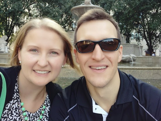 Grand Army Plaza Selfie