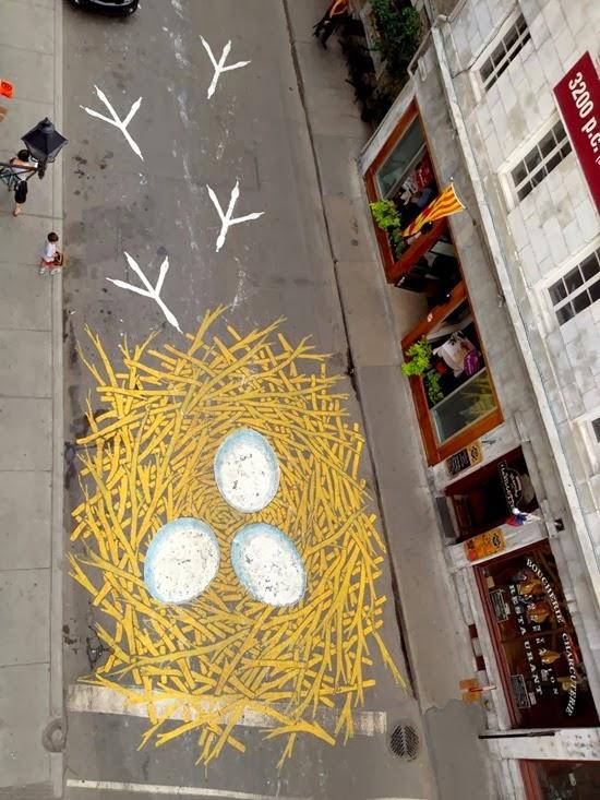 Artista de rua Peter Gibson 14