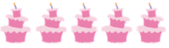 Five Un-Birthday Cakes
