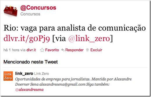 Exemplo @link_zero