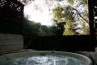 Spa bath at Sycamore Springs