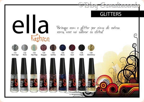 Ella Fashion Glitter-F