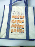 D&Q tote bag, Drawn & Quarterly