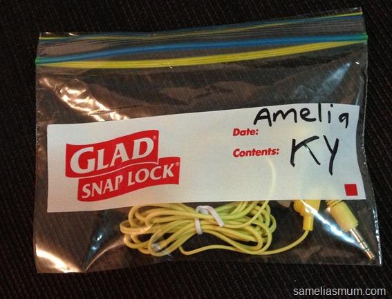 Glad Snap Lock Bag - School