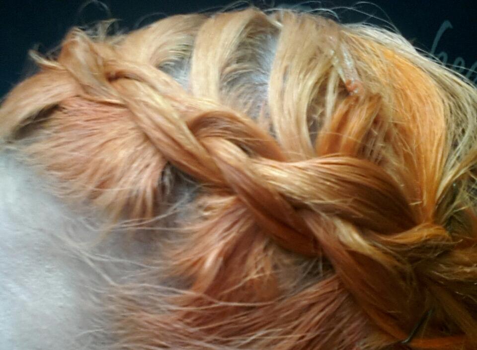 Forget Moi Knots Garnier Olia Intense Copper 740 Hair Dye