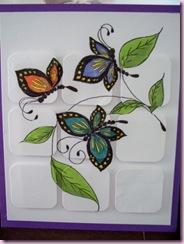 Flutters on tiles