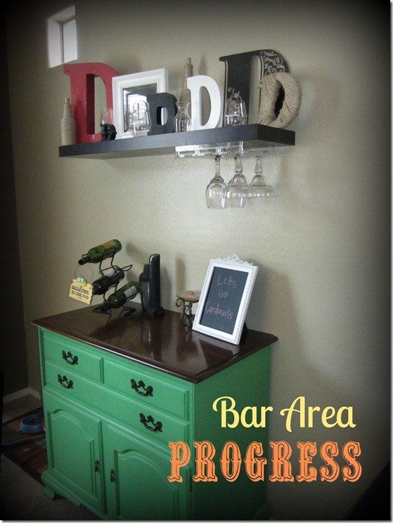 home tour- bar