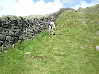 Hadrian\'s Wall up close.