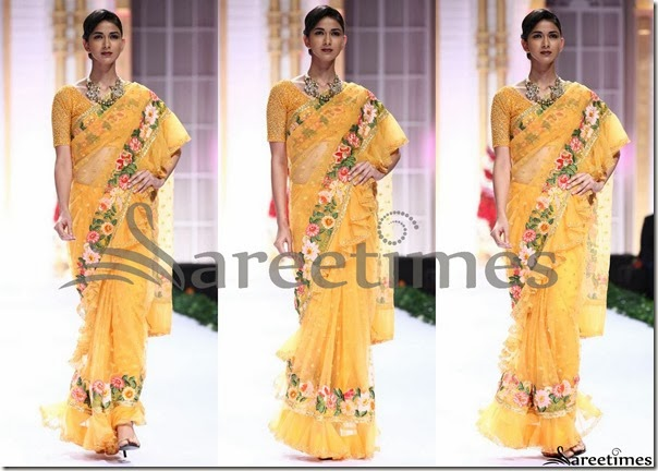 Pallavi_Jaikishan_Yellow_Net_Saree
