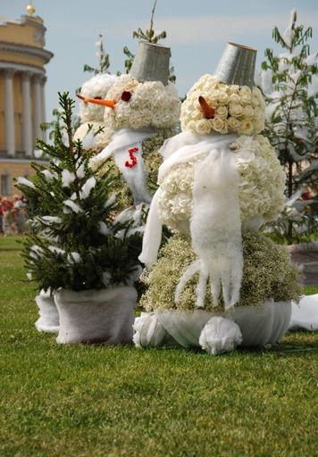 Снеговики Вячеслава Зайцева