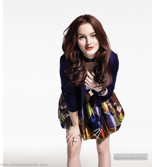 Leighton meester blair gossip girl garota do blog linda sensual desbaratinando  (207)