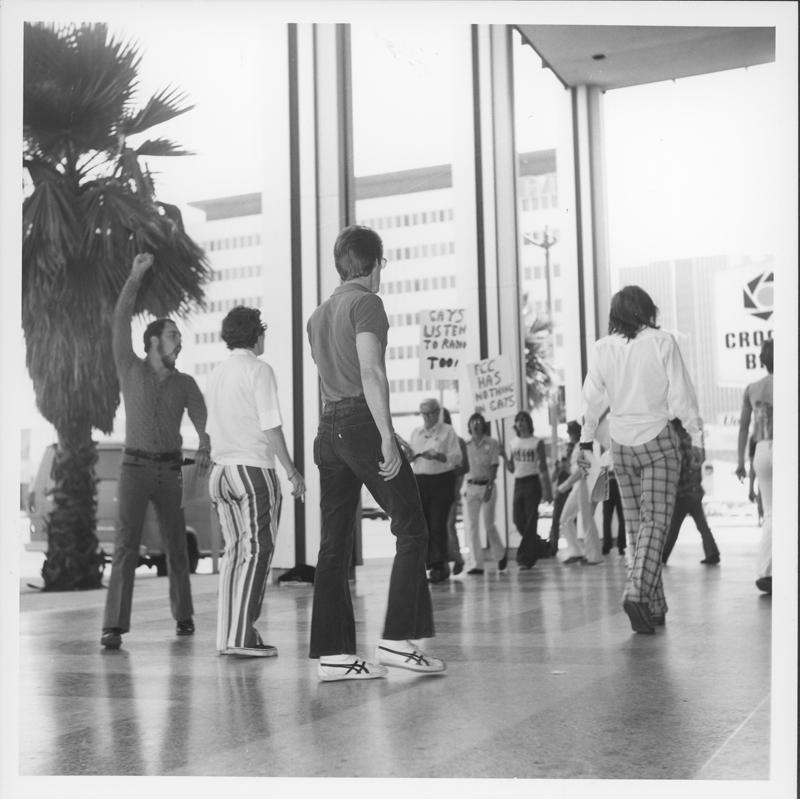 K-100 demonstrators. 1975