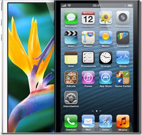 Schermo iPhone 5 da 4 pollici
