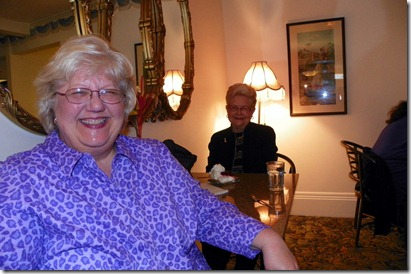 JoAnn Hansen Patterson and her mom, Ruth Hansen.  What a delightful Christian pair!