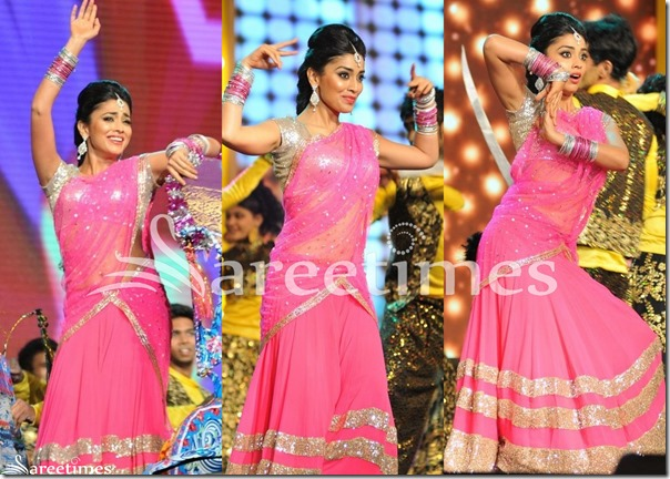 Shriya_Pink_Half_Saree