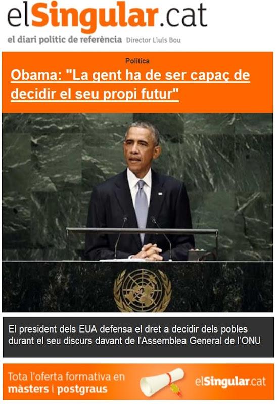 Barak Obama dreit de decidir