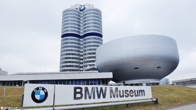 bmw museum in Munich, Bayern, Germany