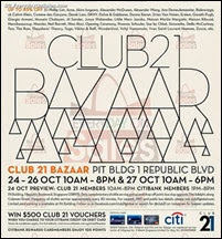 Club 21 Bazaar Warehouse Sale Event 2013 Singapore Deals Offer Shopping EverydayOnSales