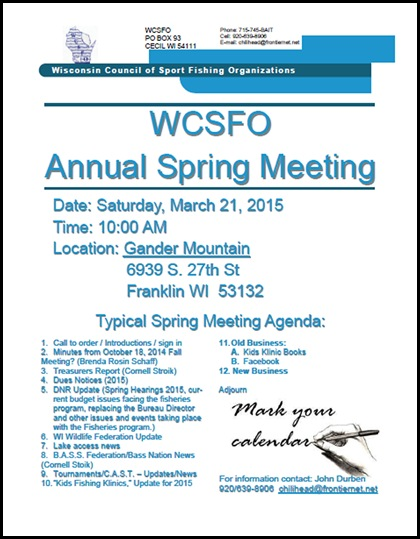 2015 Spring Meeting Notice
