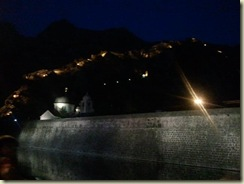 2011-11-11 Kotor and fortifications at night (Small)