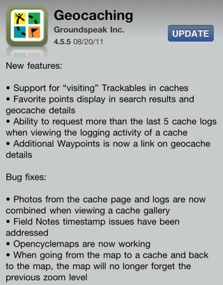 Geocaching 4.5.5