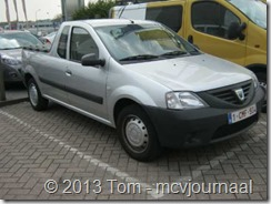 Dacia Logan Pick Up in Belgie 01