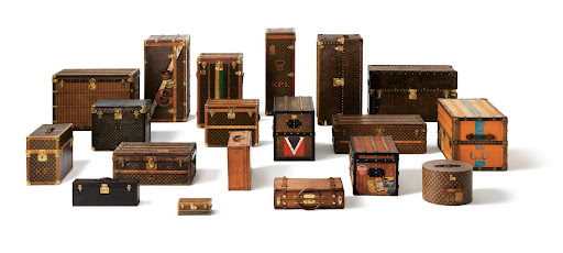 A diverse range of trunks have carried the infamous LV logo, each made for different specific purposes.