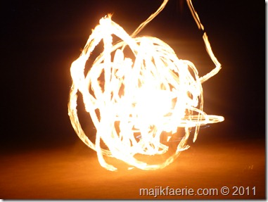 44 fire twirling