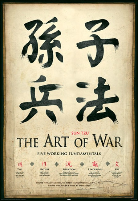 CC Photo Google Image Search Source is 1 bp blogspot com  Subject is the art of war 5 fundamentals sun tzu poster