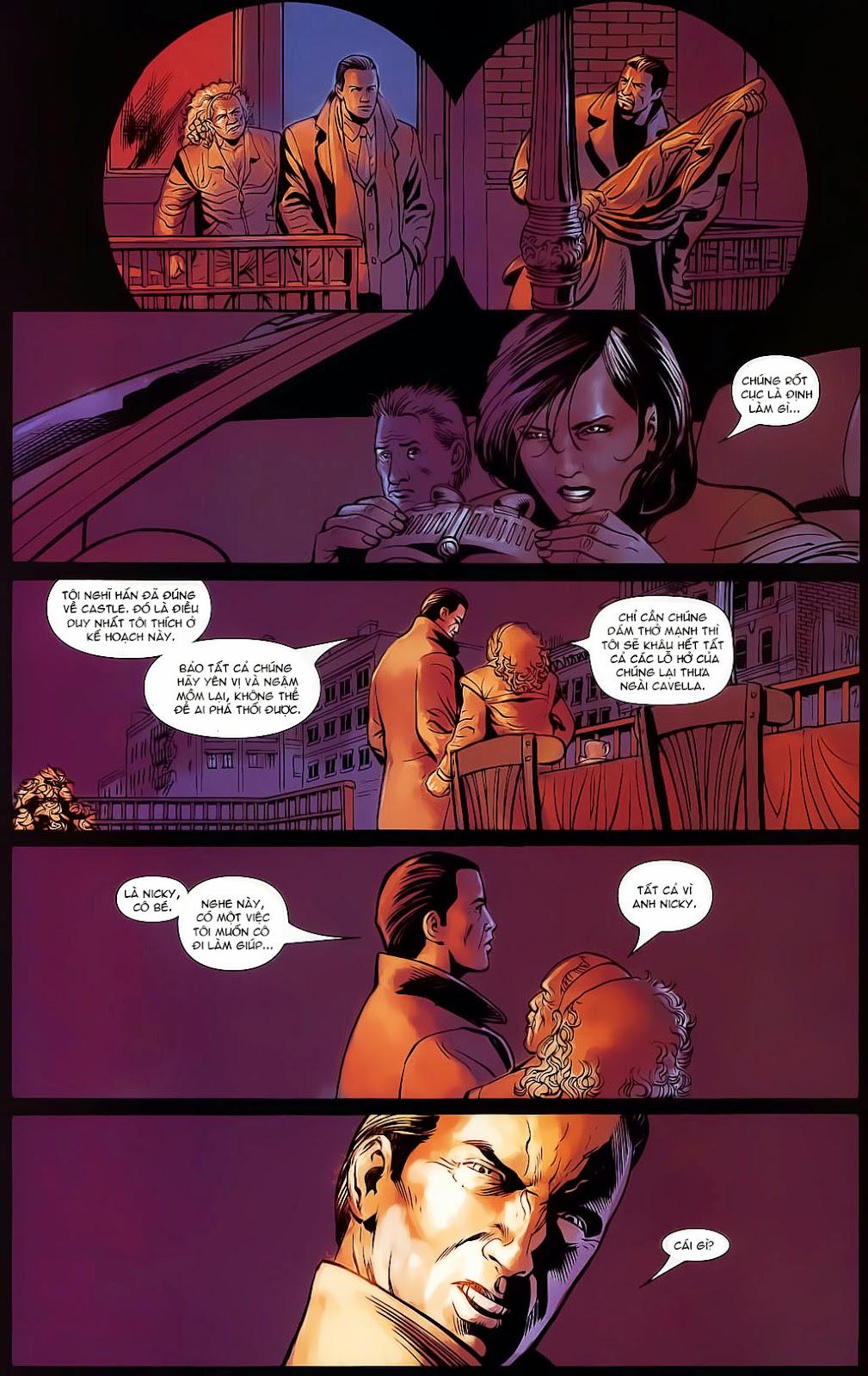 The Punisher: Trên là Dưới & Trắng là Đen chap 4 - Trang 21