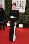 Golden Globe winner Julianne Moore in Tom Ford