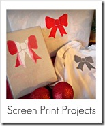 screen printed projects