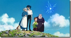 Howls Moving Castle Family