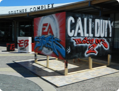 EB Expo - Street Art -  EA Call Of Duty