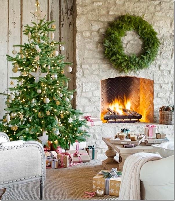 case e interni - shabby chic - decorazioni Natale (0)