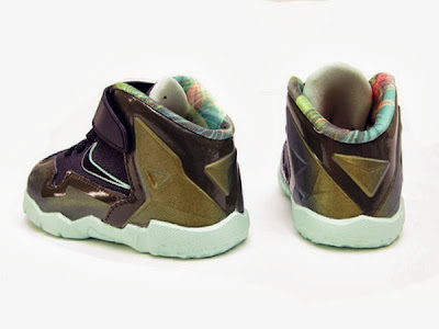 nike lebron 11 toddler army slate 1 03 parachute gold Nike LeBron XI Toddler Parachute Gold Available Now