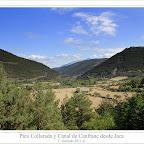Pico Collarada y canal de Canfranc desde la fuente de la Salud, en Jaca