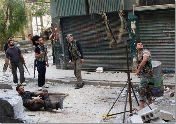 Lançador de granadas dos rebeldes sirios (4)