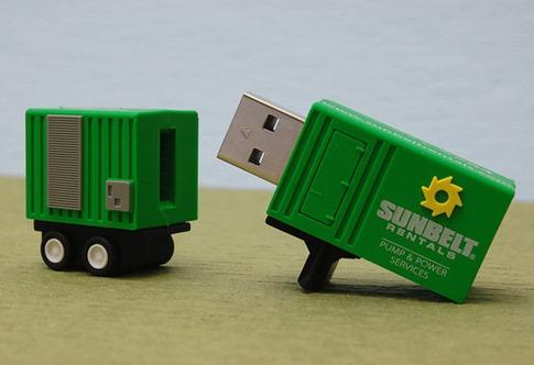 45. Camión USB Drive