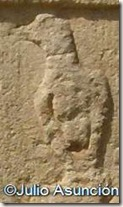 Estela romana de San Pedro de Lizarra - Paloma