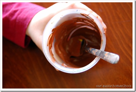 Making Brown Paint