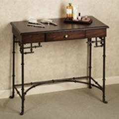 Akanko faux bamboo vanity table